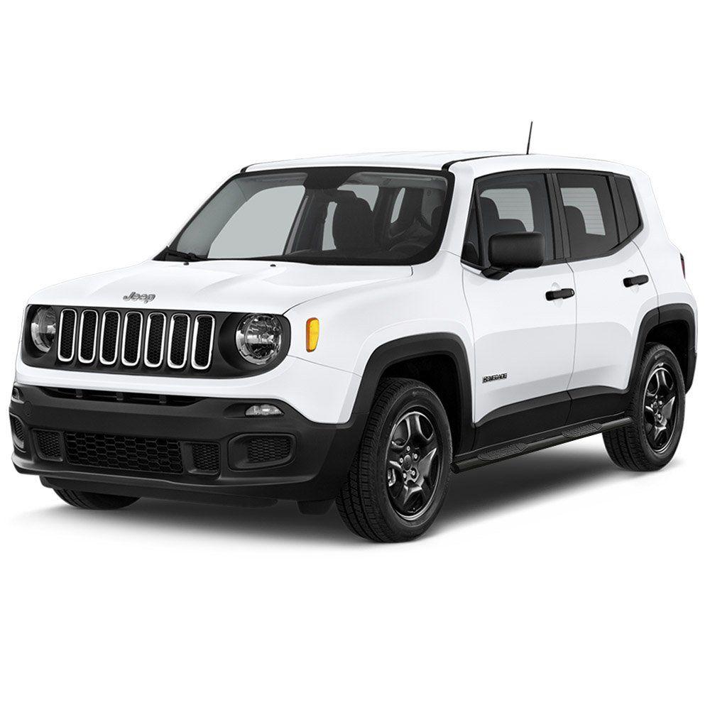 Estribo Lateral Jeep Renegade 2015 a 2019 Oblongo Preto Keko K1