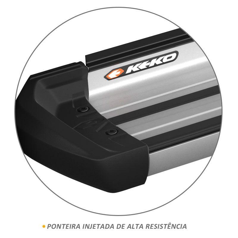 Estribo Lateral Ranger 2013 a 2020 Aluminio Prata Keko K1
