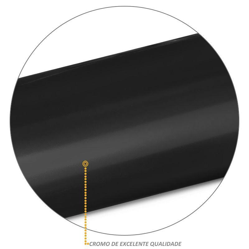 Estribo Lateral Frontier 2008 a 2016 Oblongo Oval Preto