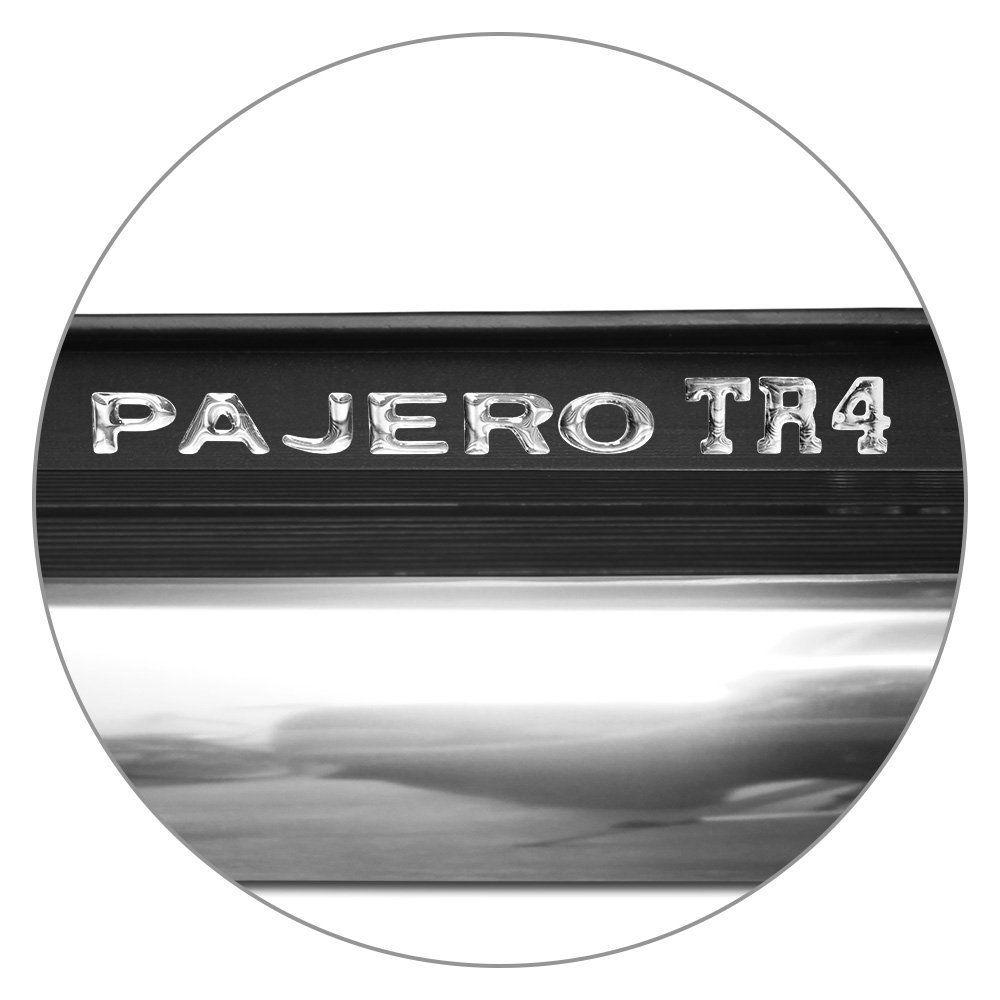Estribo Lateral Pajero TR4 2010 a 2019 Cinza Londrino Autech