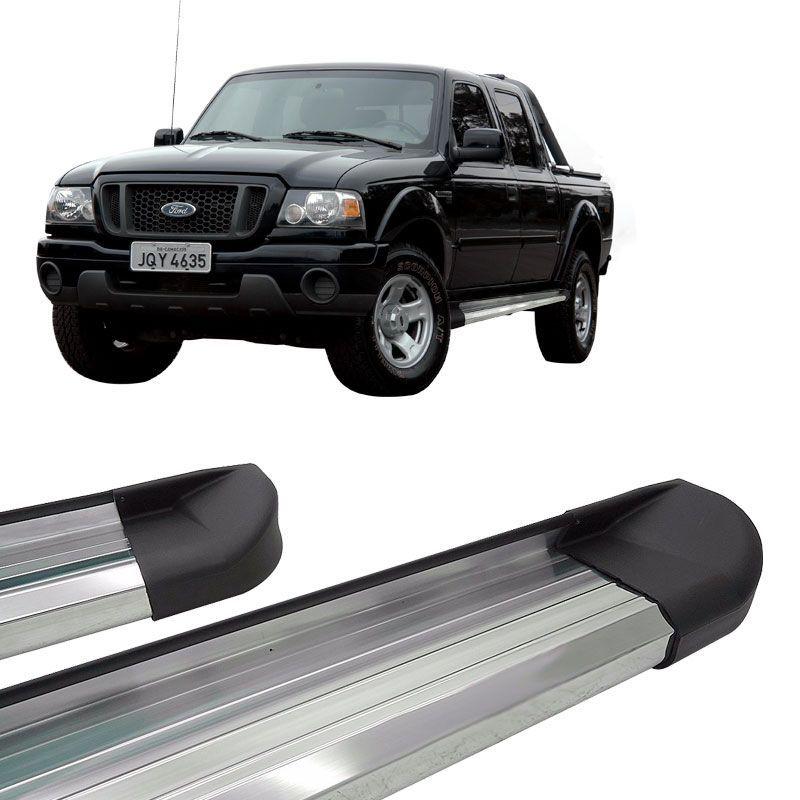 Estribo Lateral Ranger CD 1996 a 2012 Aluminio Anodizado VF
