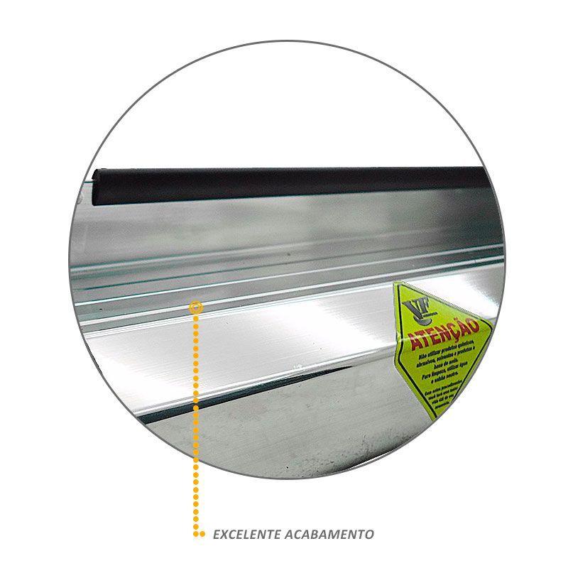 Estribo Lateral Fiat Toro 2016 a 2018 Aluminio Anodizado VF