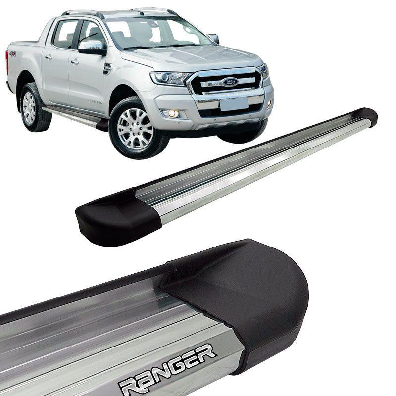 Estribo Lateral Ranger CD 2013 a 2018 Aluminio Anodizado VF
