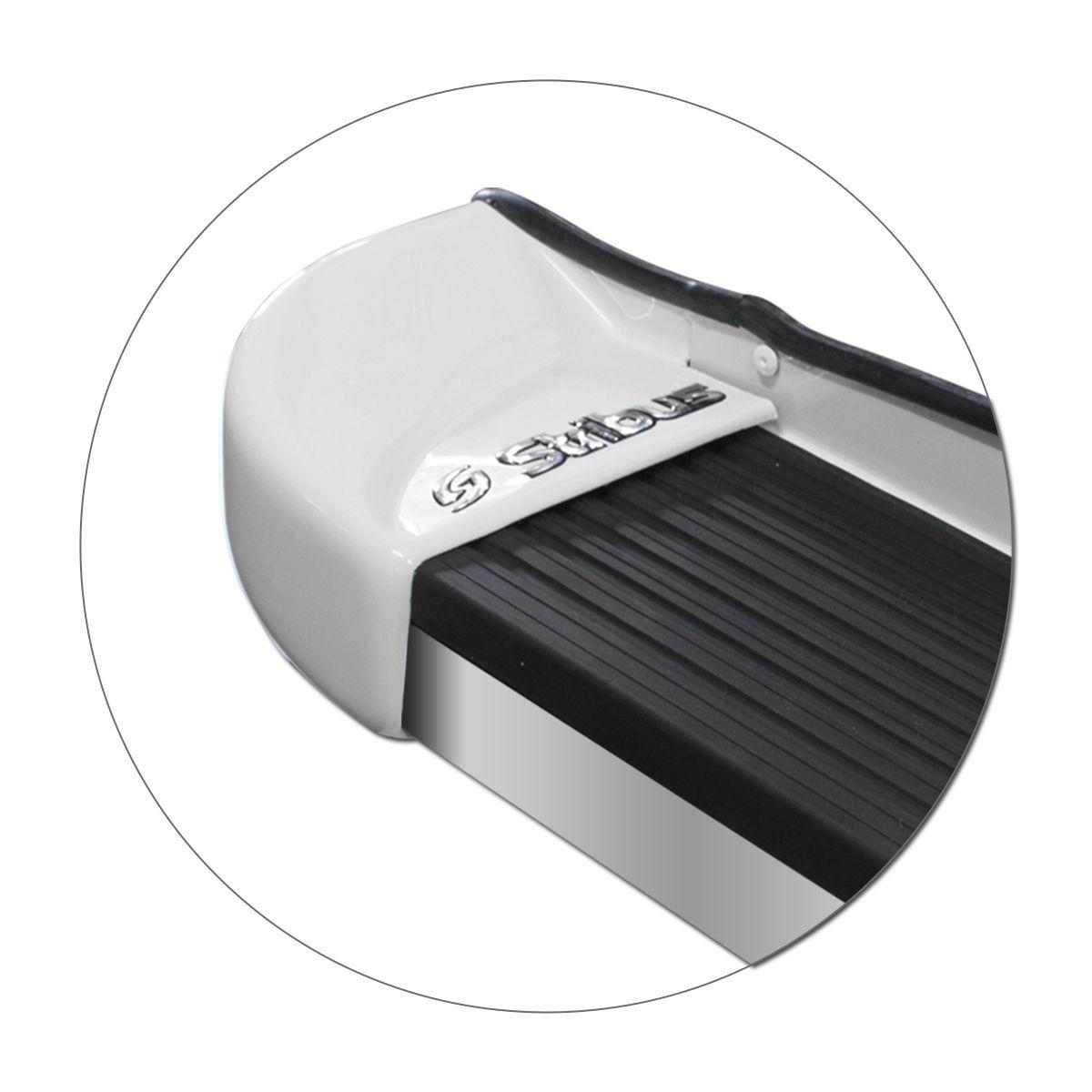 Estribo Lateral Rav4 2013 a 2019 Branco Perolizado Stribus