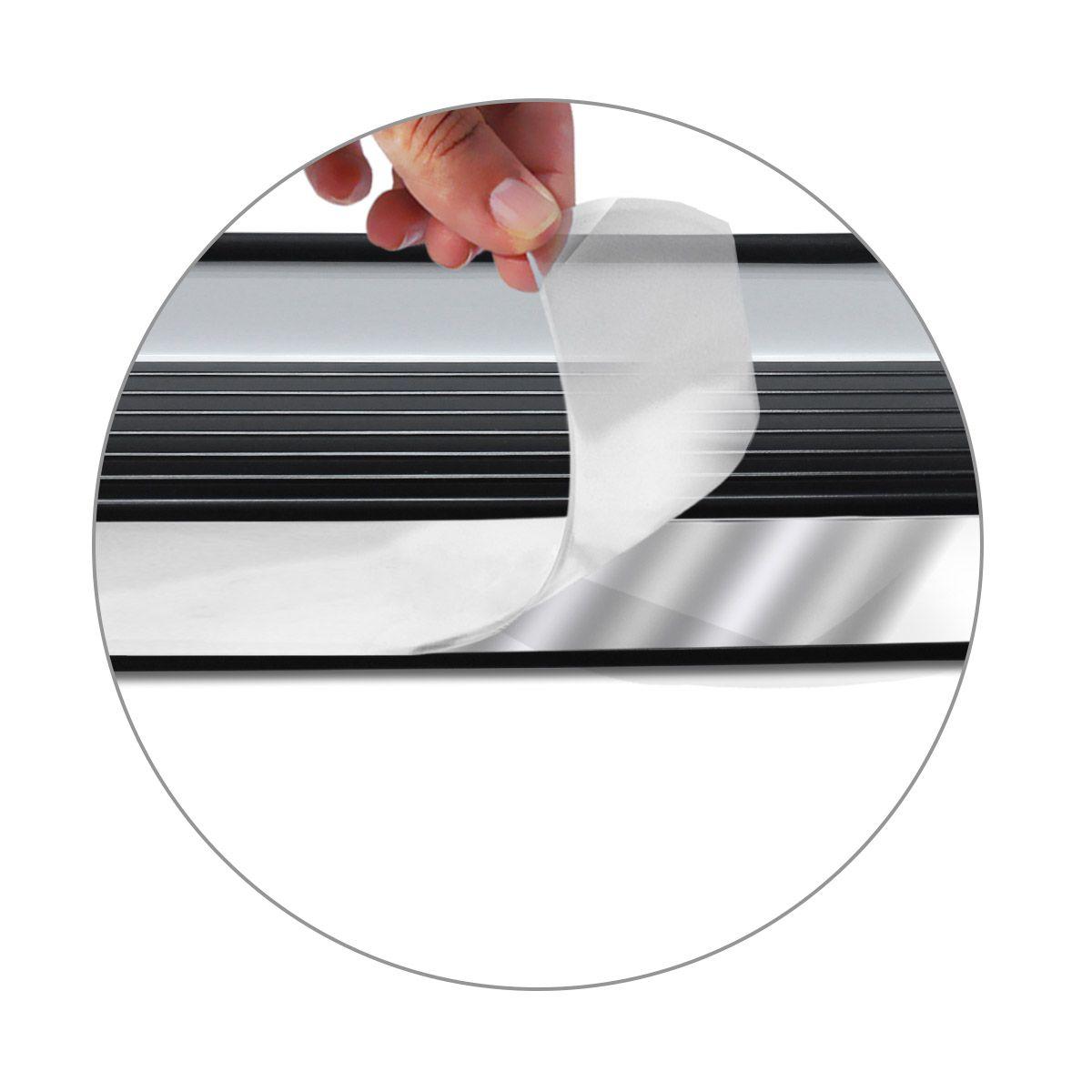 Estribo Lateral S10 CD 1995 a 2011 Branco Malher Personalizado