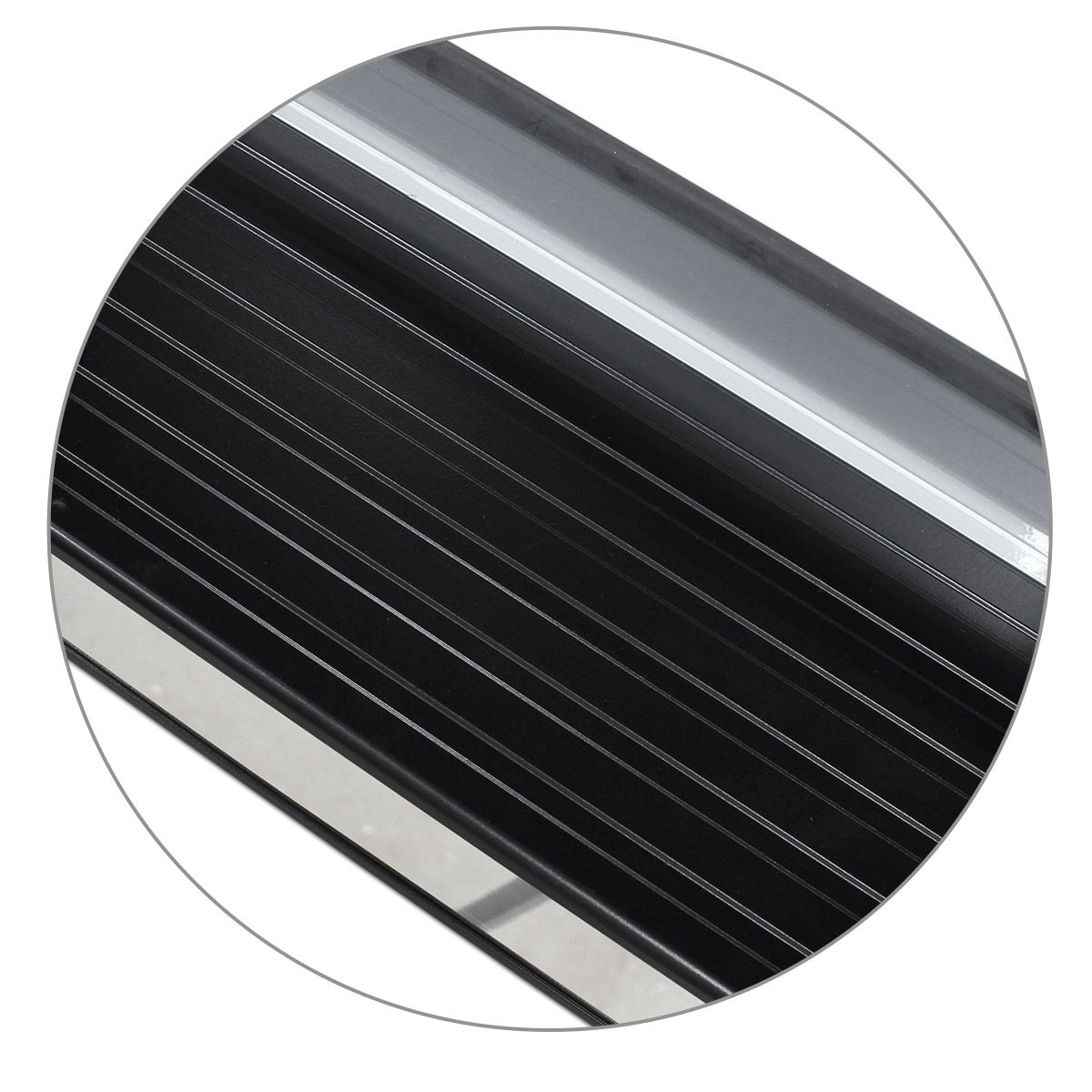 Estribo Lateral S10 CD 2012 a 2020 Prata Switchblade Personalizado