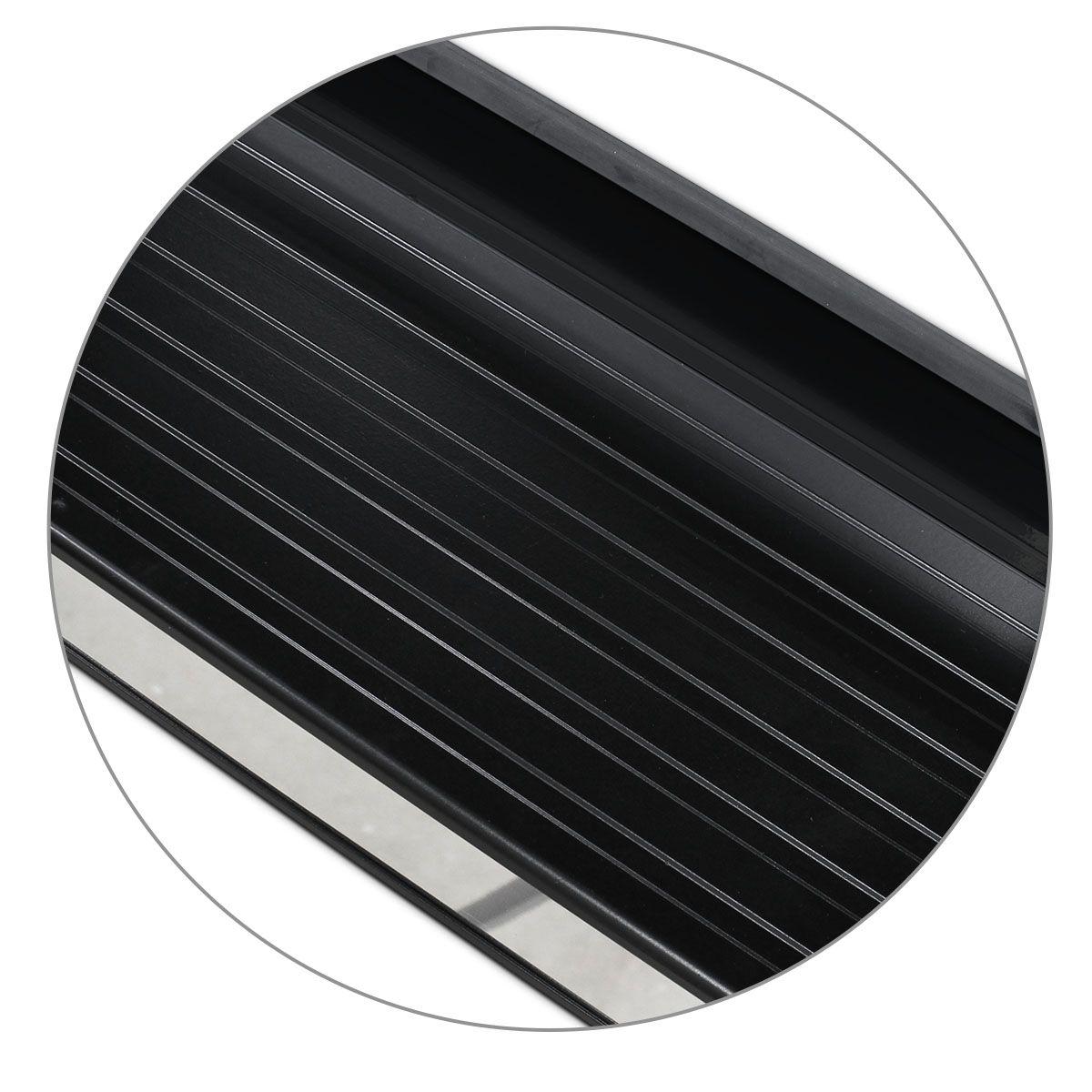 Estribo Lateral S10 CD 2012 a 2019 Preto Personalizado