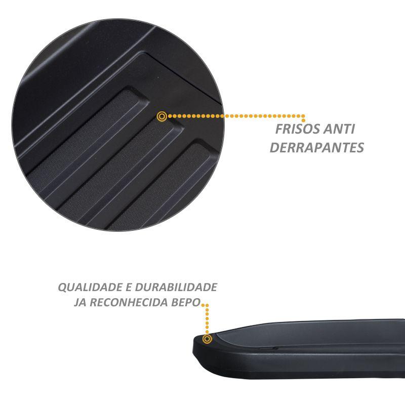 Estribo Lateral S10 CD 2012 a 2020 Injetado Original Bepo