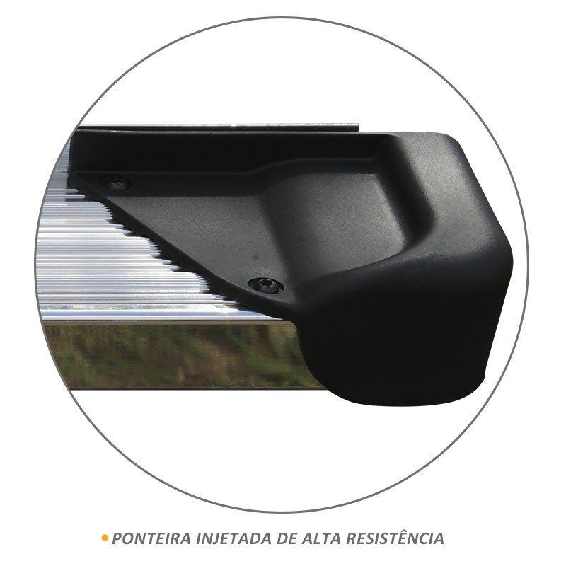 Estribo Lateral S10 CS 2012 a 2019 Aluminio Polido A3