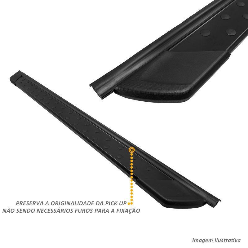 Estribo Lateral Hyundai Tucson 2005 a 2017 Aluminio Preto Bepo
