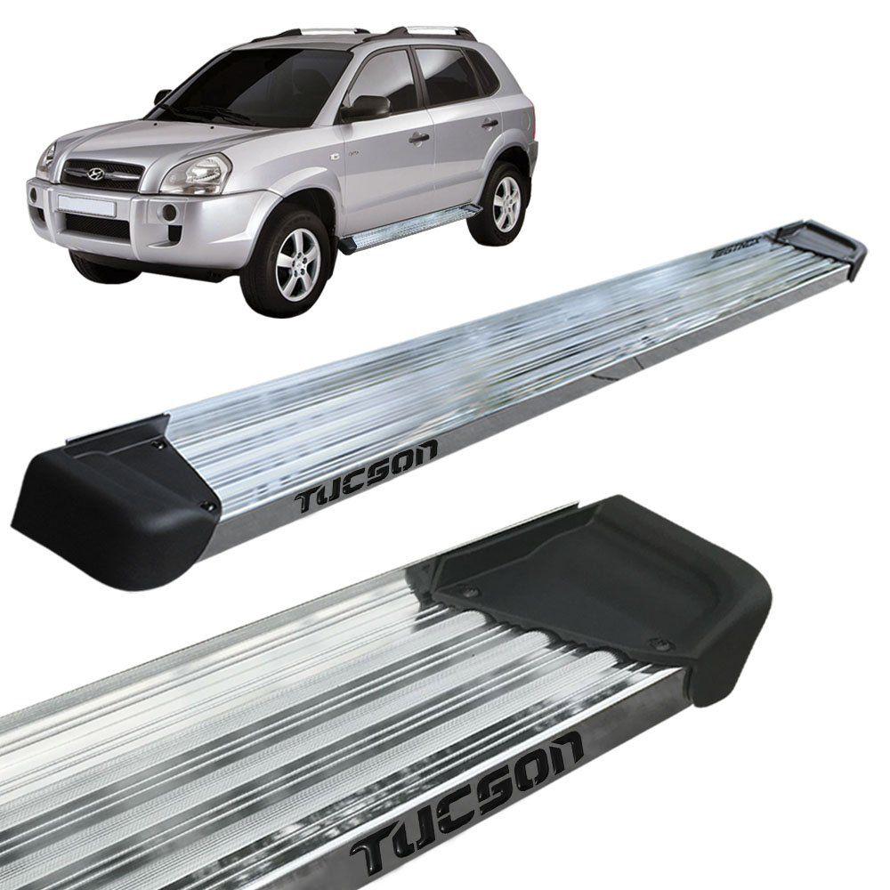 Estribo Lateral Tucson 2005 a 2017 Aluminio Polido A3