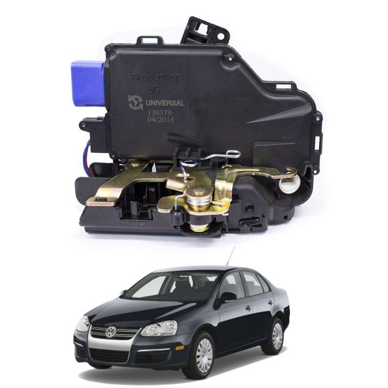 Fechadura Elétrica Audi A3 1996 a 2006 Jetta 2006 a 2010 Dianteira Esquerda
