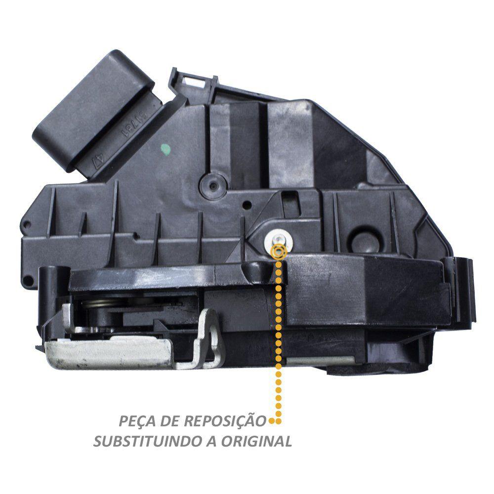 Fechadura Elétrica Porta Fiesta 2014 a 2018 Traseira Esquerda