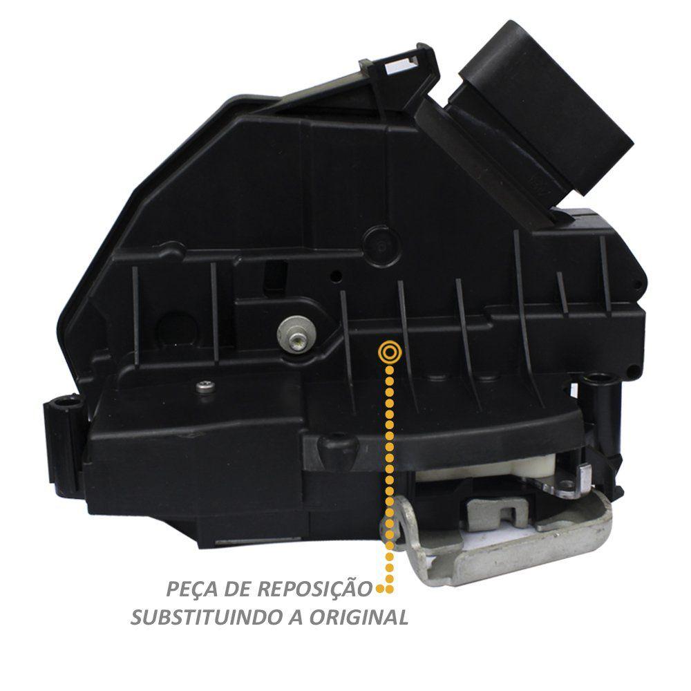 Fechadura Elétrica Porta New Fiesta 2014 a 2018 Traseiro Direito