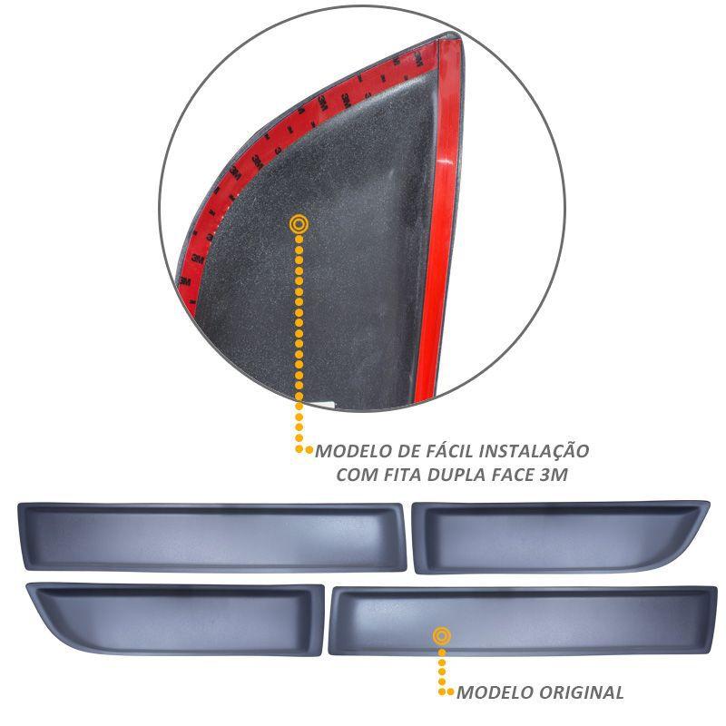 Friso Lateral Duster e Oroch 2012 a 2016 Cinza Modelo Original