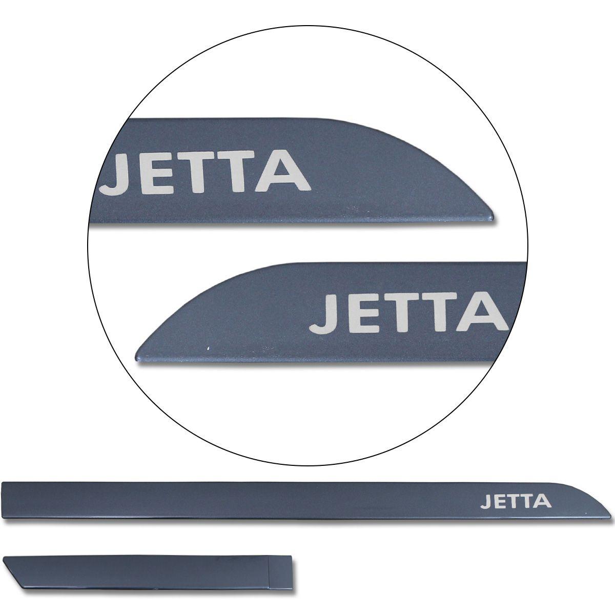 Jogo De Friso Lateral Jetta 2008 a 2019 Facão Cinza Platinum