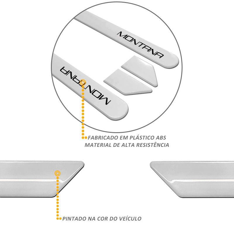 Jogo de Friso Lateral Montana Nova Prata Switchblade