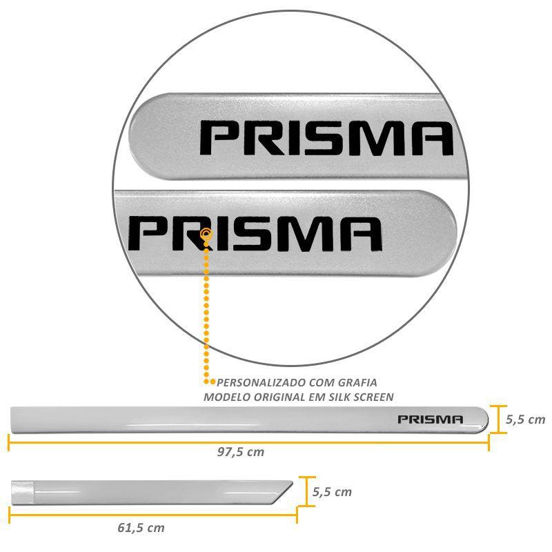 Jogo de Friso Lateral Prisma Prata Switchblade