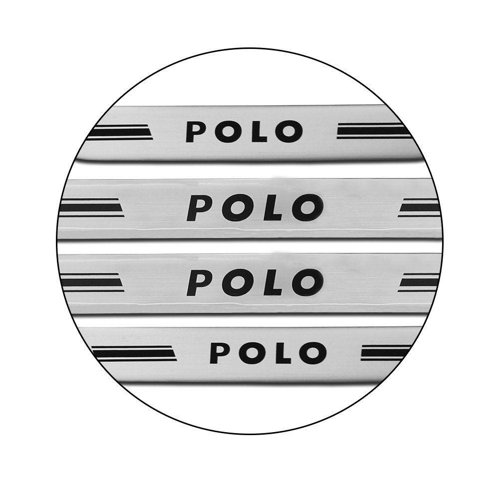 Jogo de Soleira Porta Polo 2018 2019 Resinada Prata M6