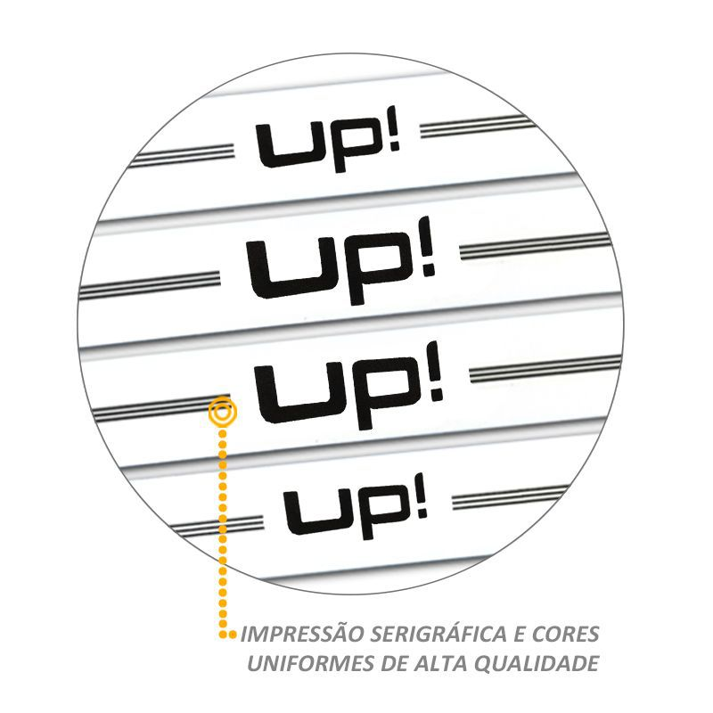 Jogo de Soleira Resinada UP ! 2013 2014 2015 Branco 4 Peças