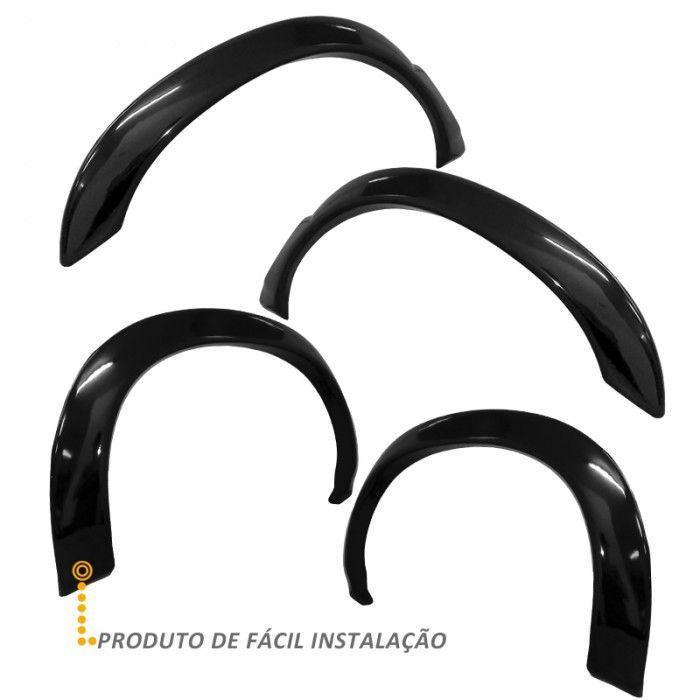 Kit Alargador de Paralamas Diant/Tras para S10 CD 2001 2011