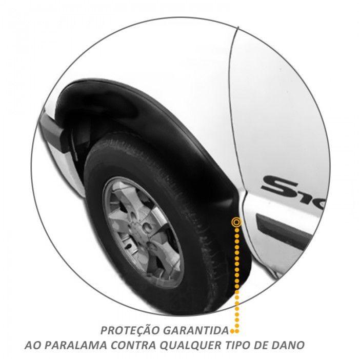 Kit Alargador de Paralamas Diant/Tras para S10 CS 2001 2011