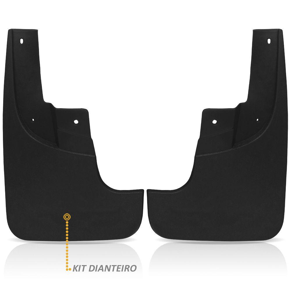 Kit Apara Barro Lameira S10 2012 a 2020 Protetor Injetado Flap