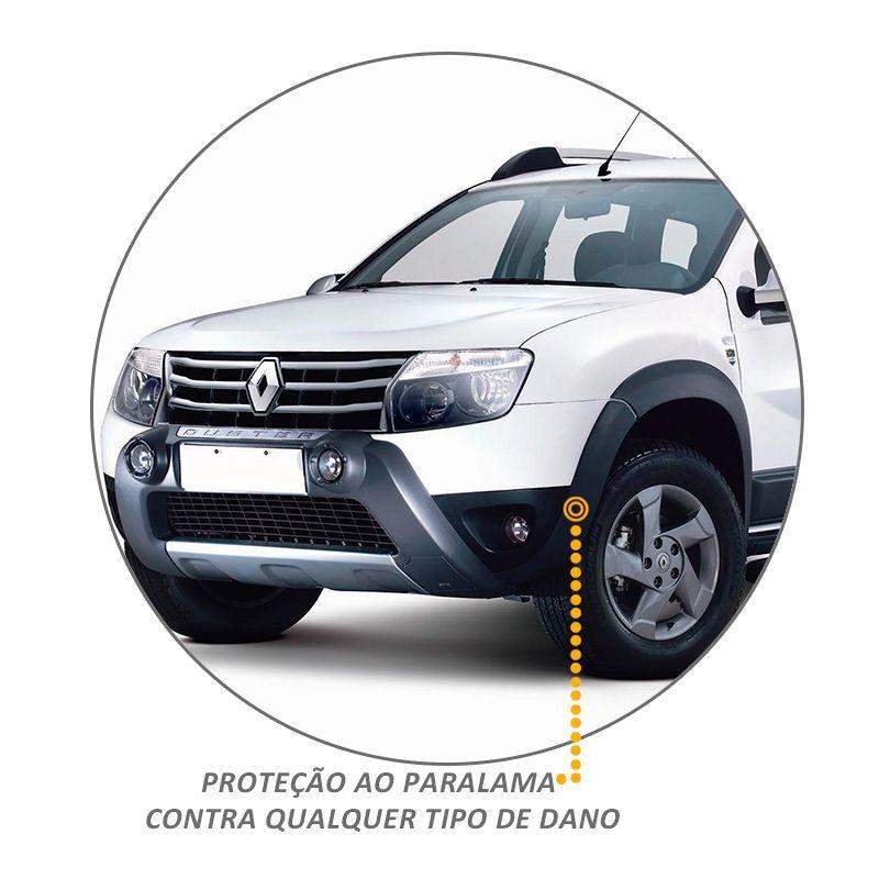 Kit Alargador de Paralamas Duster 2015 a 2018 Preto