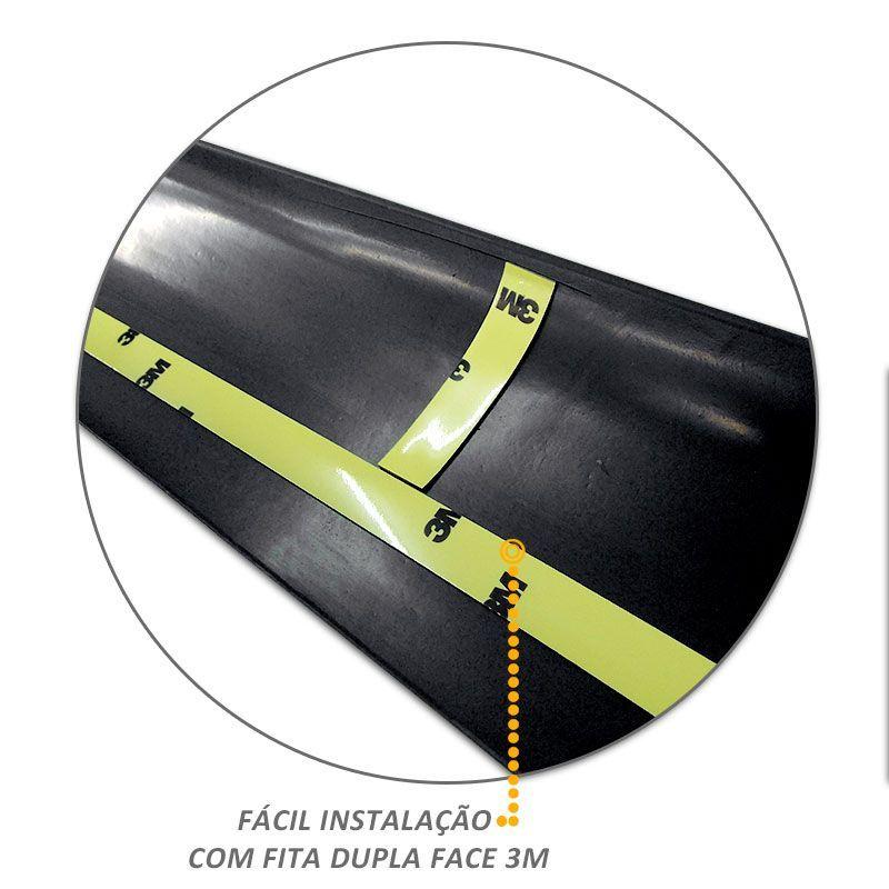 Kit Protetor de Borda Amarok CS 2010 a 2019 Lateral e Tampa Caçamba