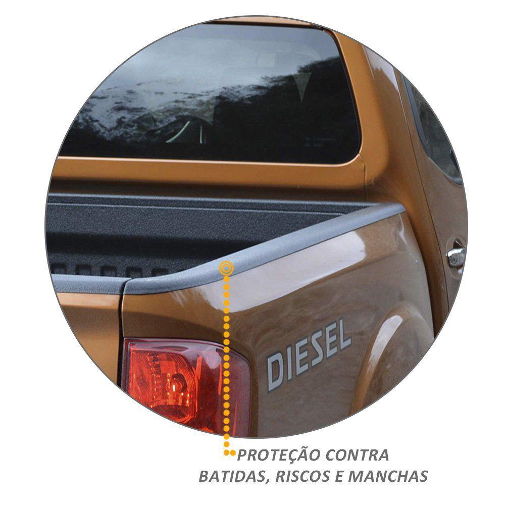 Kit Protetor de Borda Frontier 2017 a 2019 Lateral e Tampa Caçamba
