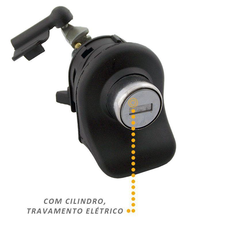 Maçaneta Eletrica Porta Malas Fox 2003 a 2014 Com Chave