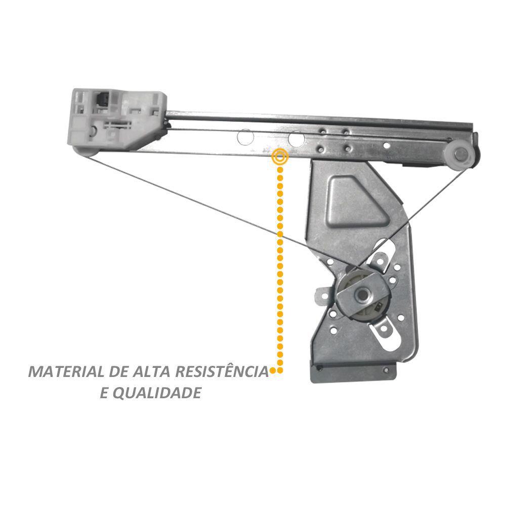 Máquina Vidro Elétrico Citroen C3 Traseiro Direito
