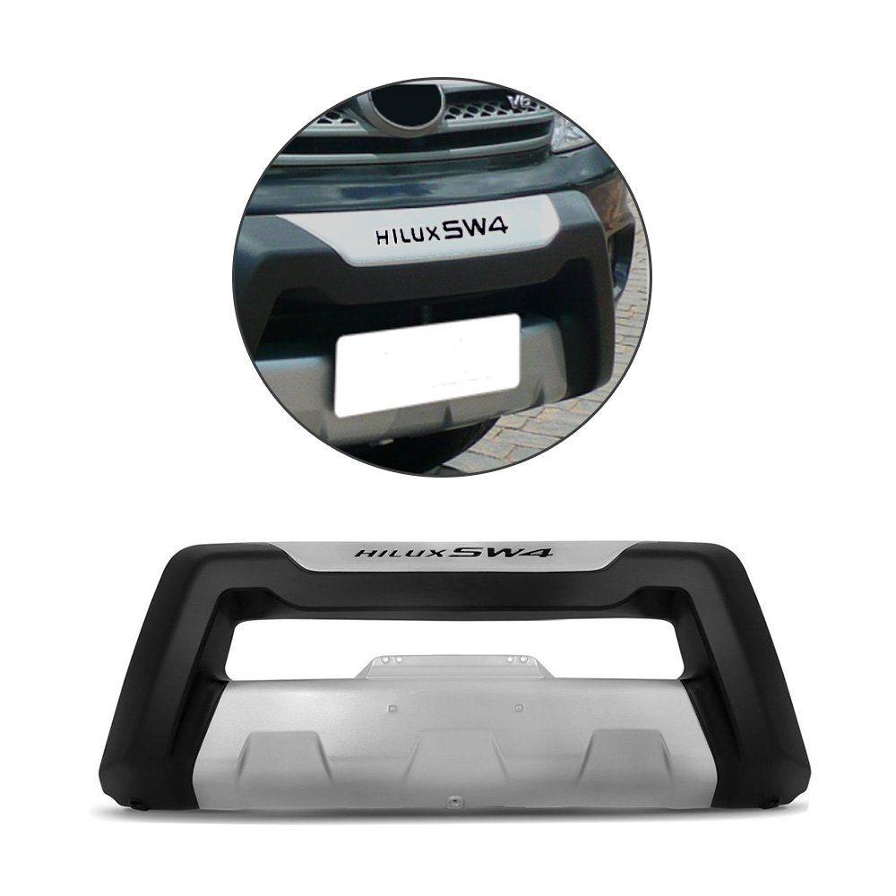 Overbumper Hilux Sw4 2005 a 2011 Front Bumper Protetor Preto
