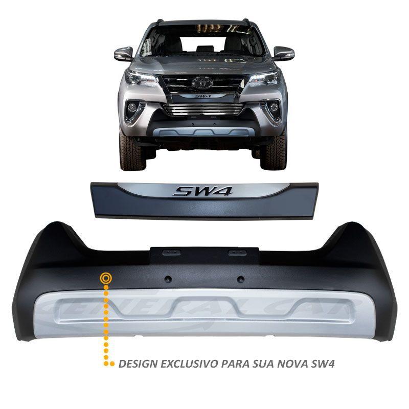 Overbumper Hilux SW4 2016 a 2019 Front Bumper Defender