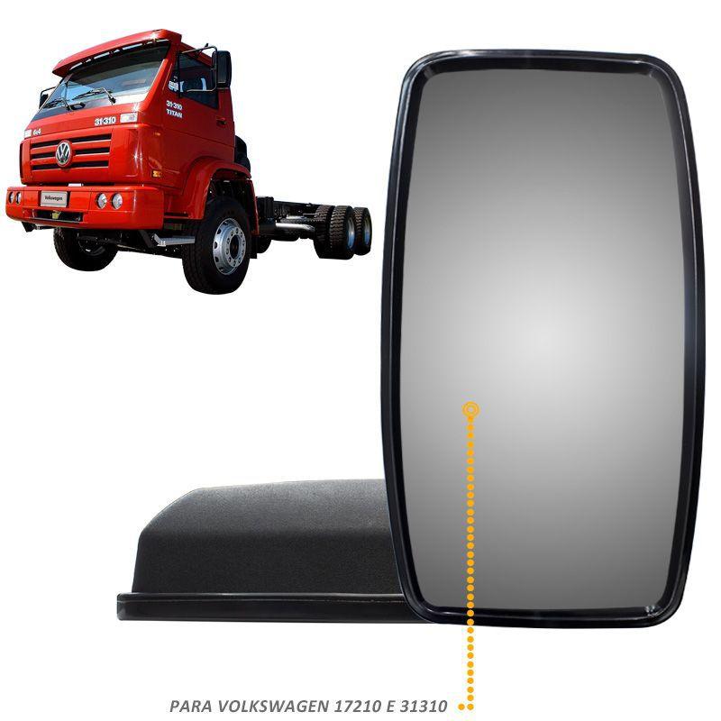Espelho Retrovisor Bepo Vw 17210 31310 LE ou LD Completo