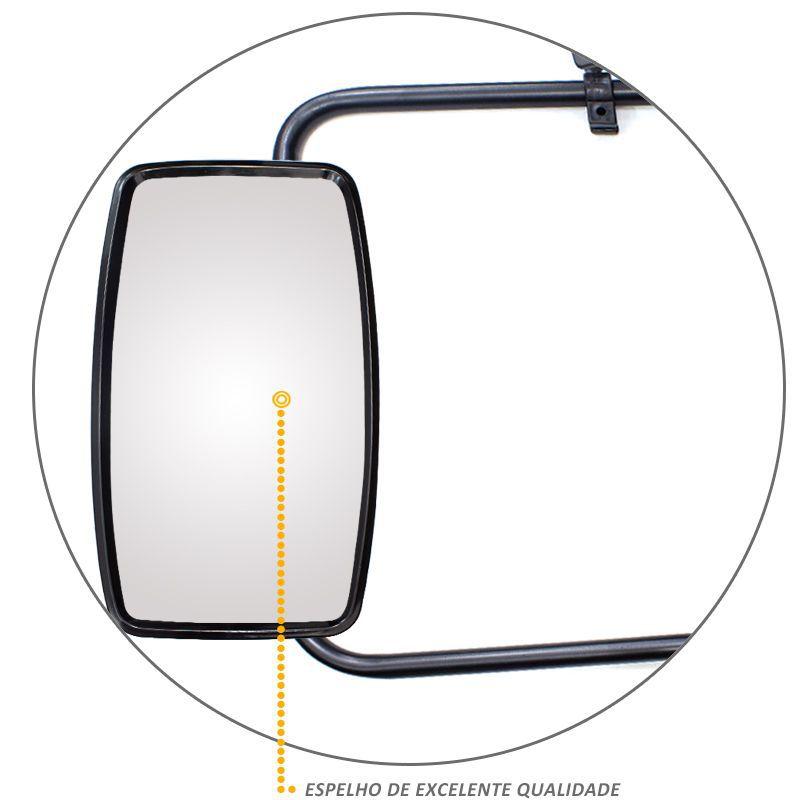 Par Espelho Retrovisor Bepo Vw 17210 31310 LE LD Completo