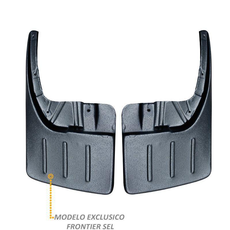 Kit Apara Barro Lameira Frontier 2008 a 2016 Protetor Flap