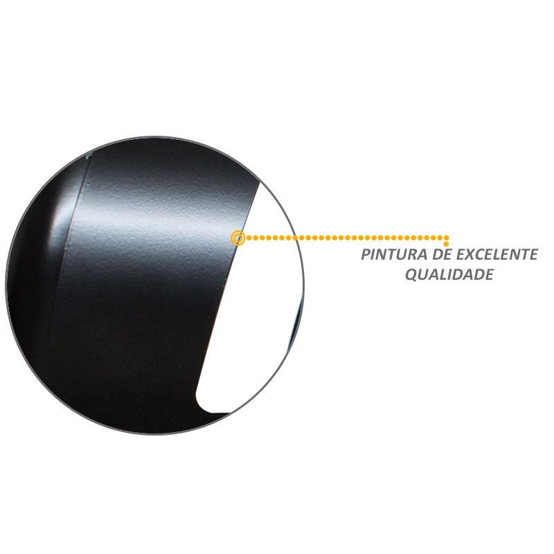 Parachoque de Impulsão Ecosport 2003 a 2012 Preto
