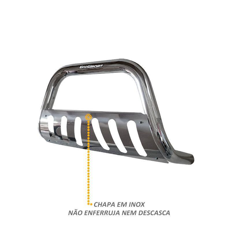 Parachoque de Impulsão Ecosport 2013 a 2016 Cromado