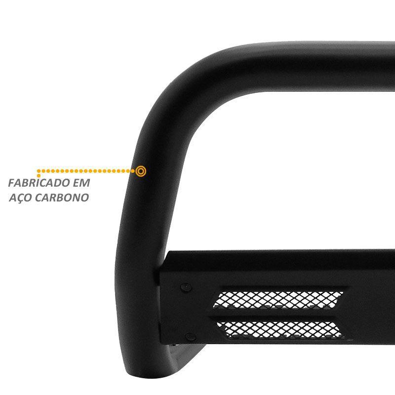 Parachoque de Impulsão Fiat Toro Diesel Mata Boi Preto