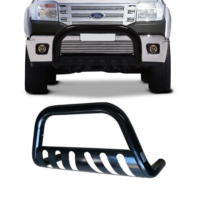 Parachoque de Impulsão Ford Ranger 1998 a 2009 Preto