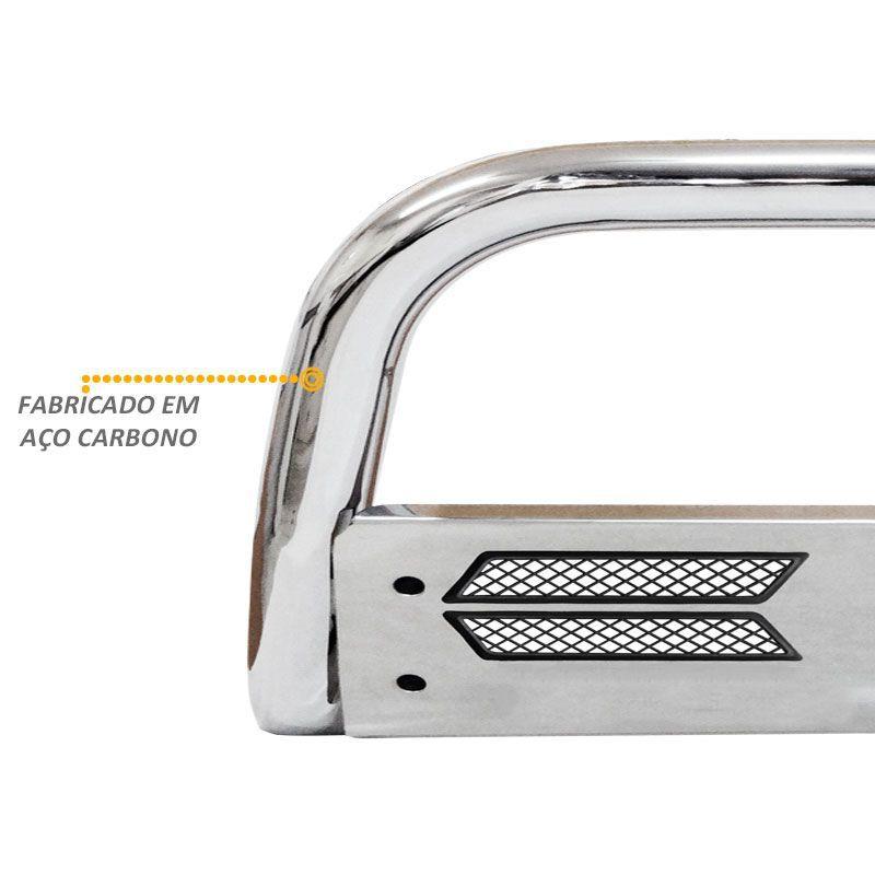 Parachoque de Impulsão Fiat Toro Diesel Mata Boi Cromado