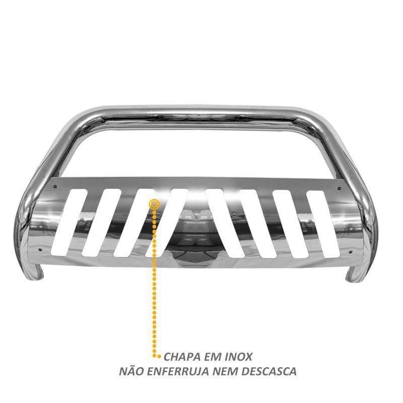 Parachoque de Impulsão Mitsubishi L200 Triton Cromado