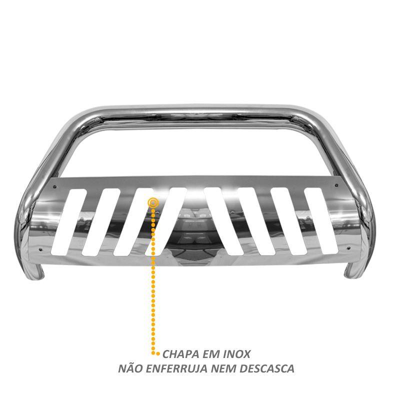 Parachoque de Impulsão S10 2012 a 2016 - Cromado