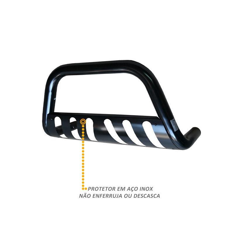 Parachoque de Impulsão Renault Duster Oroch 2015 2016 Preto