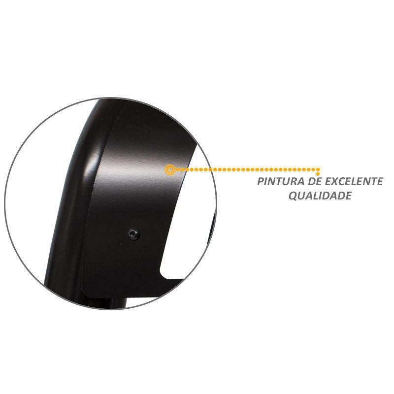 Parachoque de Impulsão S10 2001 a 2011 - Preto
