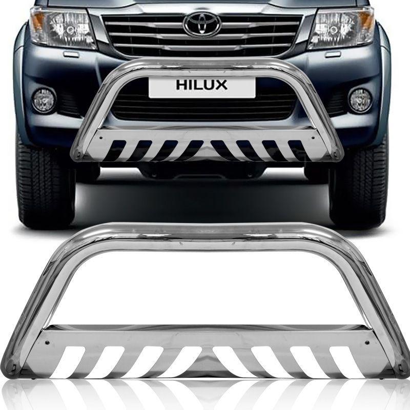 Parachoque de Impulsão Toyota Hilux 2005/2015 Cromado