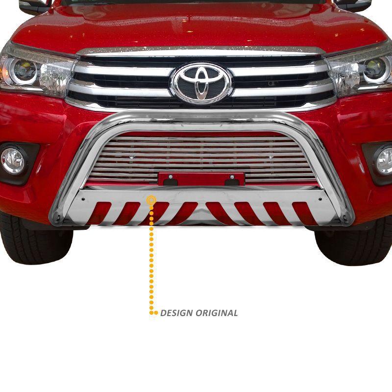 Parachoque de Impulsão Toyota Hilux 2016 a 2020 Cromado