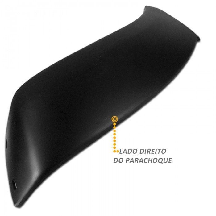 Ponteira de Parachoque Lado Direito Hilux CD 2005 2010