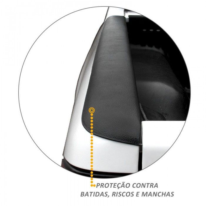 Protetor De Borda Nova S10 2012 a 2020 Lateral Caçamba